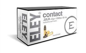 ELEY contact .22LR ammunition