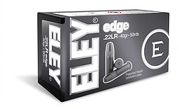 ELEY edge .22LR ammunition
