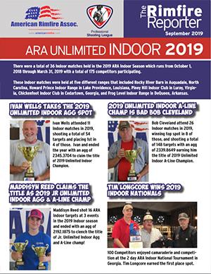 ARA unlimited indoor 2019