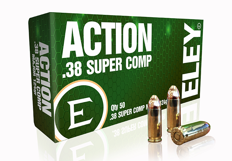 ELEY action .38 super comp major USA