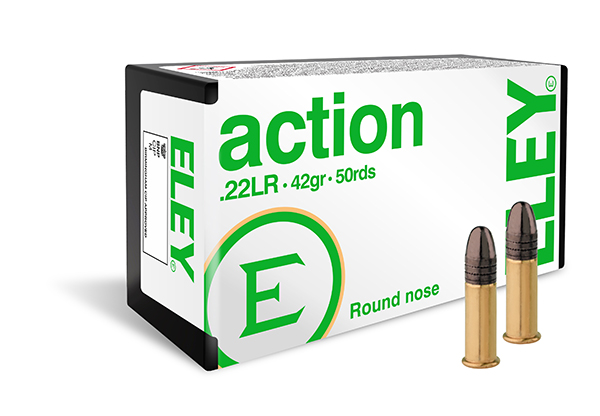 ELEY action 50 round pack - The world's most accurate .22LR ammunition