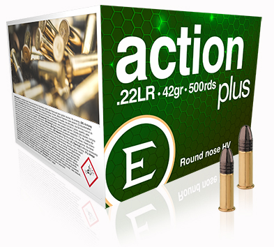 ELEY action plus 500 round bulk pack - The world's most accurate .22LR ammunition
