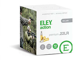 ELEY action rec pak .22LR ammunition