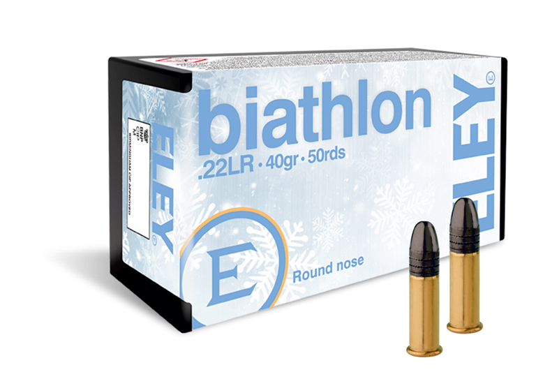 ELEY biathlon club 22lr ammunition - The world's most accurate .22LR biathlon ammunition