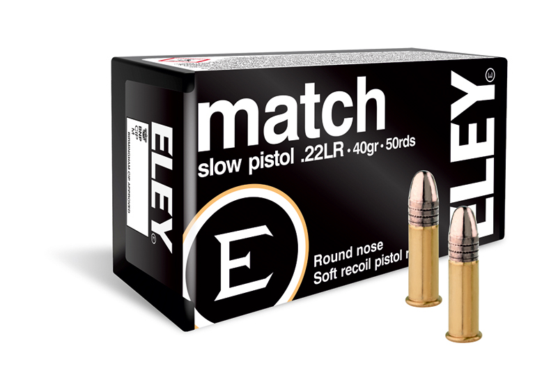 ELEY match slow pistol USA