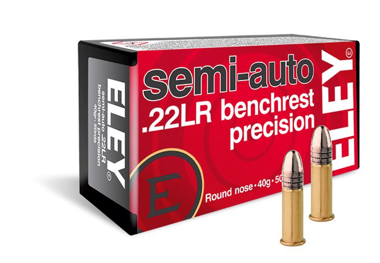ELEY semi-auto benchrest precision USA