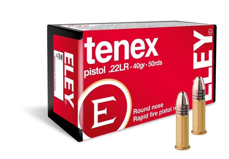 ELEY tenex pistol USA