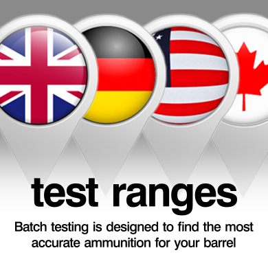 ELEY test ranges