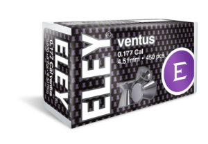 ELEY ventus 4.51 .177 air pellets