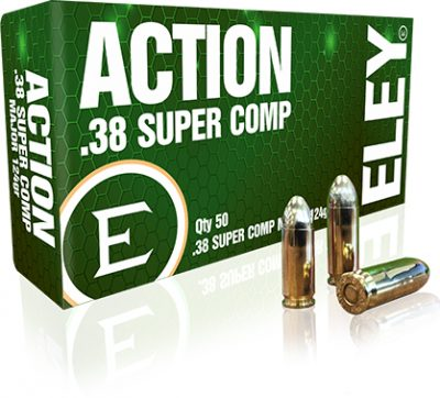 ELEY action .38 super comp major 124gr